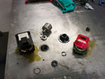 Step 3: The servo motor is disassembled