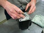 Step 7 servo motor repair