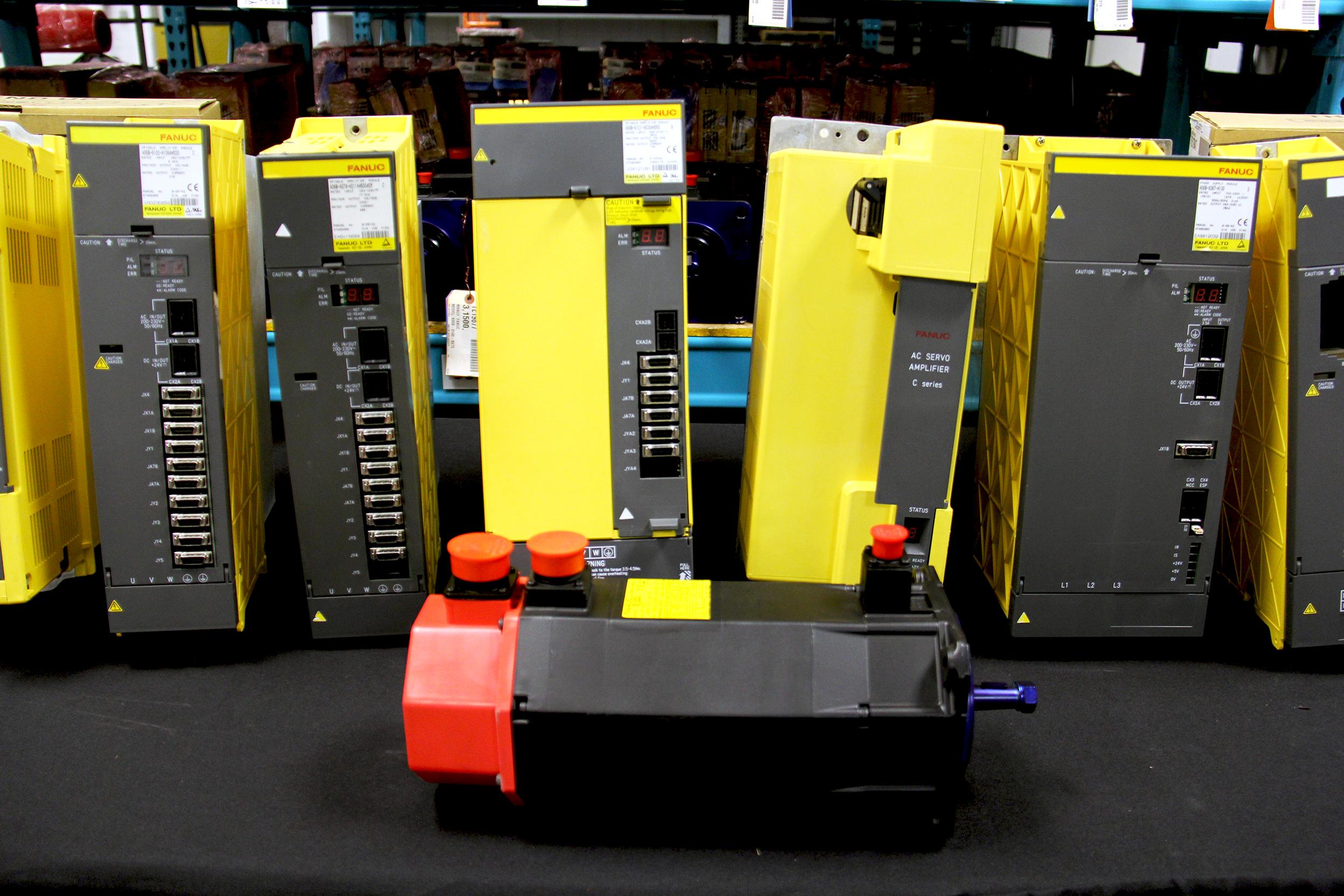 Servo Motors, drives amplifiers, HMI