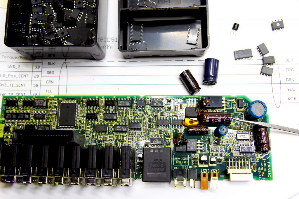 servo amplifer and drive repair